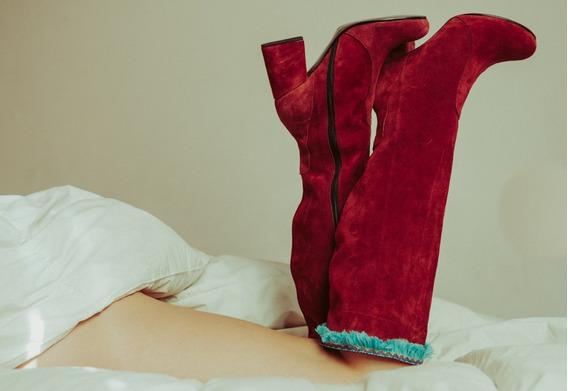 Botas De Diseño De Mujer