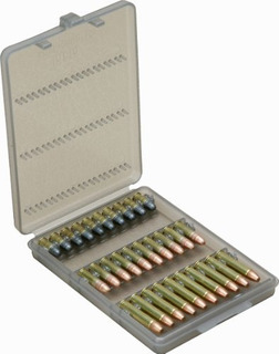 30 Portabalas Del Calibre 22 Redondeado Color Humo Claro