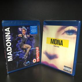 Kit Madonna Rebel Heart E Mdna Bluray Importados Lacrados
