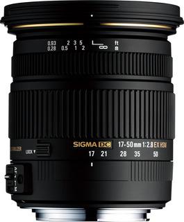 Sigma 17-50mm F 2.8 Ex Dc Os Hsm Zoom Lens Para Nikon