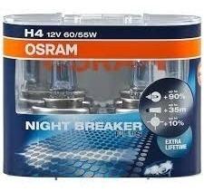 Osram Night Breaker H4 El Par Laser