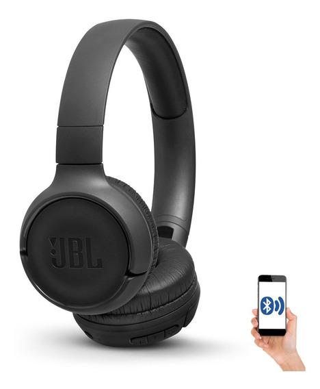 Fone Bluetooth Jbl Tune 500 Bt T500bt Bk Preto