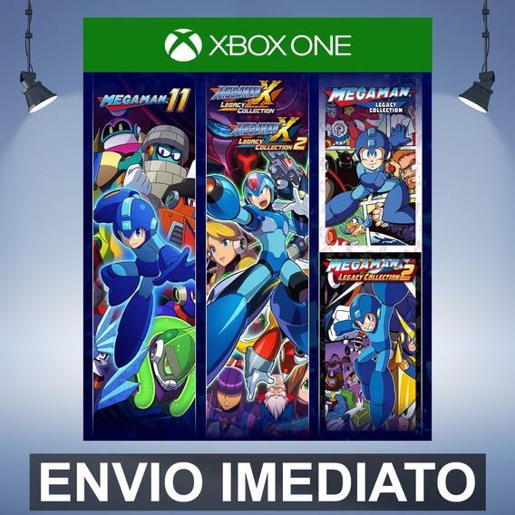 Mega Man 30th Anniversary - Xbox One Código 25 Dígitos
