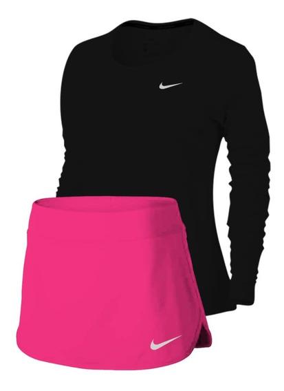 Conjunto Sueter Y Falda Shor Nike Dama S M L