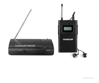 Takstar Wpm200 Sistema Monitoreo Inalambrico Auricular Inear