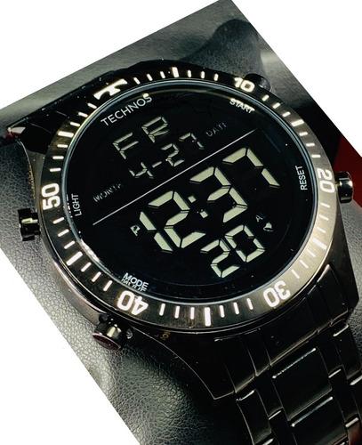 Relógio Masculino Technos  Preto Digital Grande T02139ab/4p