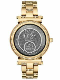 Relogio Smartwatch Michael Kors Sofie Mkt5023 Dourado
