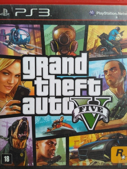 Gta 5 Ps3 Original A Pronta Entrega