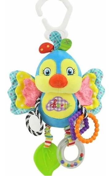Mobile Chocalho De Pelucia Com Mordedor Brinquedo Sensorial