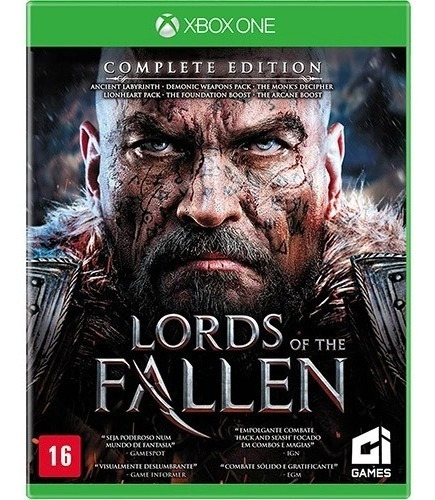 Jogo Xbox One Lords Of The Fallen Complete Edition Novo