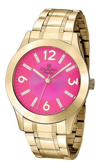 Relógio Feminino Analógico Champion Passion Cn29418 Original