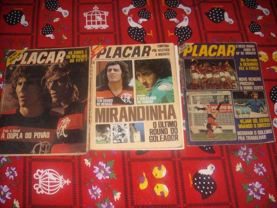 3 Revista Placar 240 267 306 Zico Flamengo Toninho
