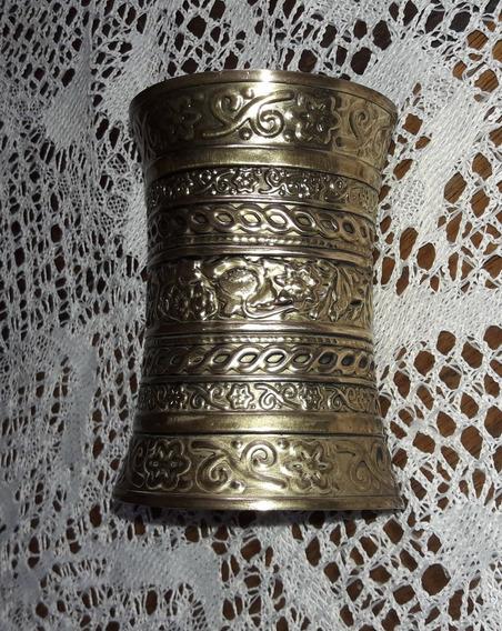 Bracelete Egípcio Trabalhado Em Alto Relevo.
