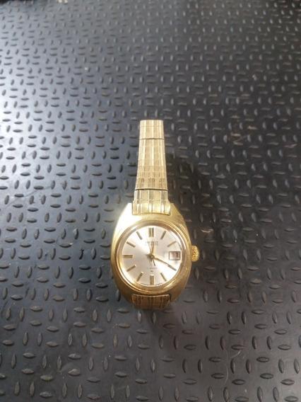 Relógio Vintage Seiko 2517 0211lady Data 24mm P/colecionador