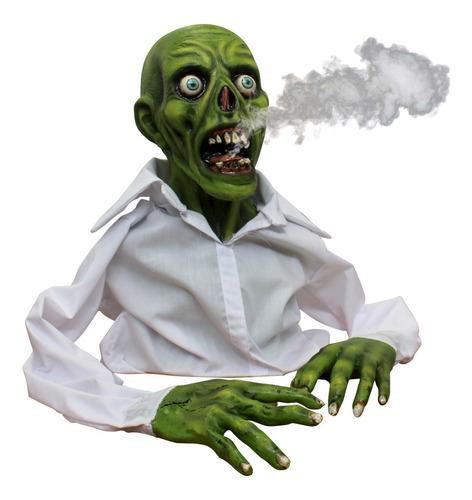 Imagen 1 de 1 de Decorativo Zombie Green Zombie Display Decoración Halloween