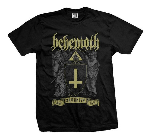Imagen 1 de 3 de Remera Behemoth  Satanist