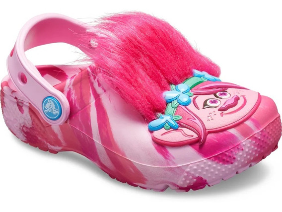 Crocs Fun Lab Trolls Clog K Party Pink