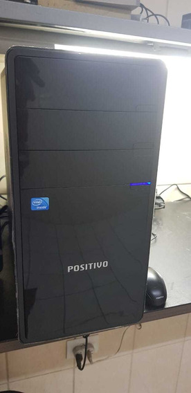 Cpu Positivo 8gb Hd 500 Monitor 18.5 Dual Core.