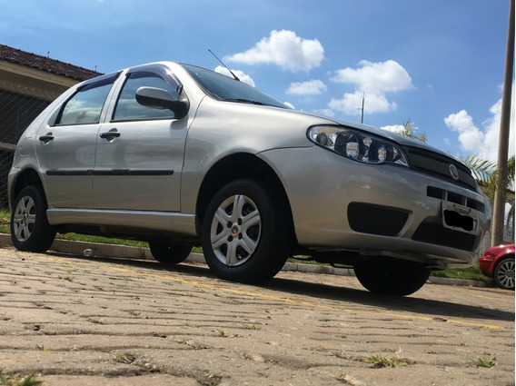Fiat Palio 1.0 Fire Celebration Flex 5p Prata Lindo