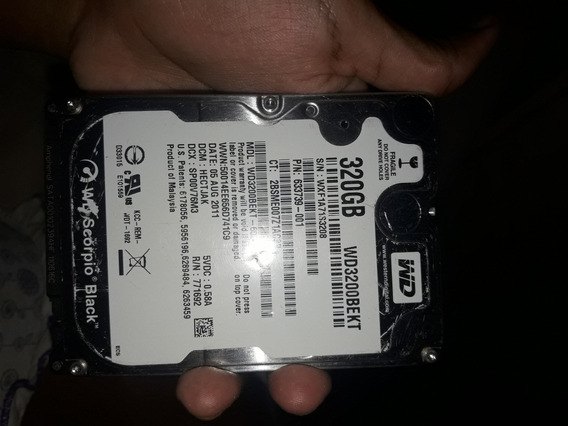 Hd Externo Wd 320gb