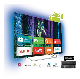 Smart Tv 4k Philips 55 Oled Ambilight Android 55oled873/77