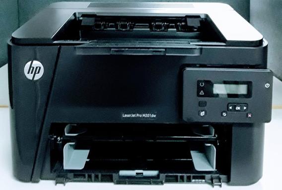 Hp Laserjet M201dw, Semi Nova E Pouca Impressão