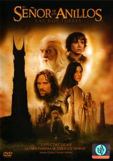 El Señor De Los Anillos Las Dos Torres - Dvd Doble Original