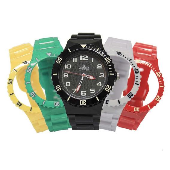 Relógio Unissex Champion Troca Pulseiras Cp38086x / 24419