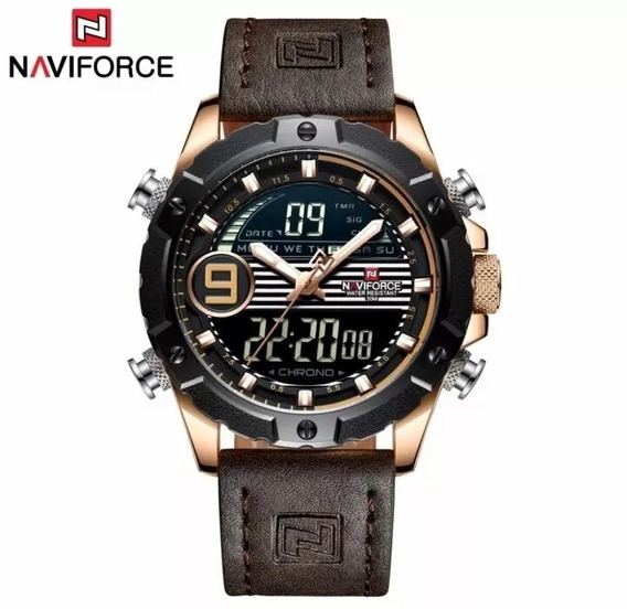 Relógio Masculino Naviforce 9146 Promoção Original