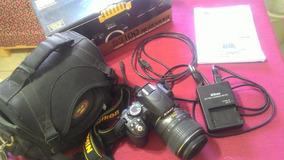 Nikon D3100 Profissional! Pouco Tempo De Uso
