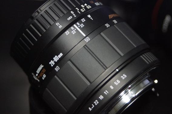 Lente Sigma Cinema Pentax Pk Macro 28-80mm 3.5 Aspherical