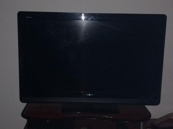 Tv Lcd Sony Bravia 40 Polegadas Com Defeito Sem Controle -