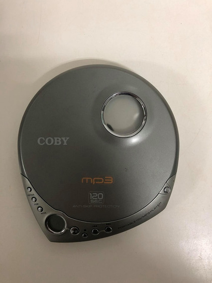 Coby Toca Cd Player Portatil Discman 120 Sec - Para Conserto