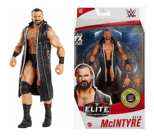 Imagen 1 de 3 de Figura Wwe Mattel Elite Drew Mcintyre Él Psicopata Escocés