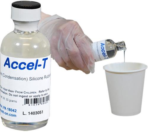 Aditivo Accel-t Acelerador # 12 Caucho Silicona Mold  X 9gr
