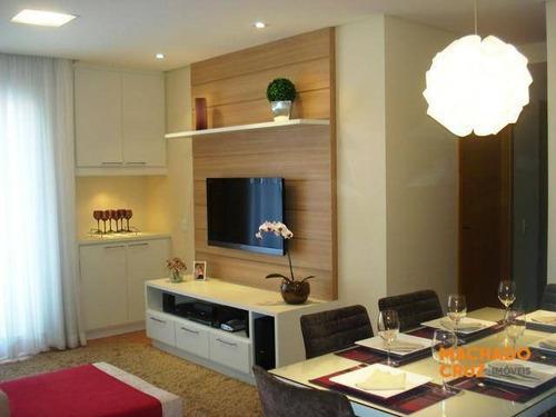 Apartamento Com 3 Dormitórios À Venda, 79 M² Por R$ 540.000,00 - Baeta Neves - São Bernardo Do Campo/sp - Ap0147