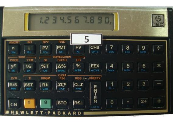 Calculadora Financeira Hp 12c Gold Português Modelo 05