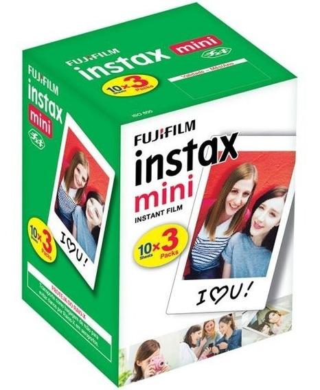 Filme Fujifilm Instax Mini Branca 30 Unidades