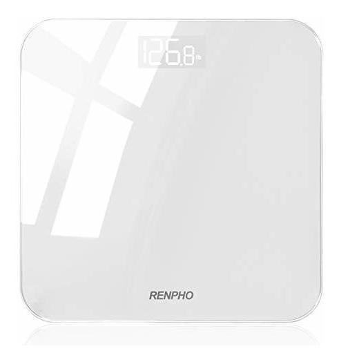 Renpho Báscula Digital De Baño, Báscula De Peso Corporal De