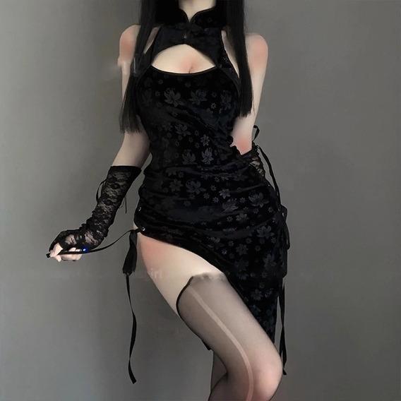 Sexy Disfraz Mujer Vestido Tradiconal Asiatico
