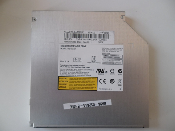 Gravador De Dvd Notebook Sata Philips Lite On Ds-8a5sh