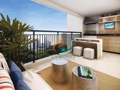 Imagem 1 de 22 de Apartamento 106 M² 4 Dorm Financiamento Direto Com A Construtora !! - Ap0168