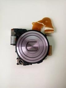 Bloco Ótico Lente Sony Dsc-w630 Prata