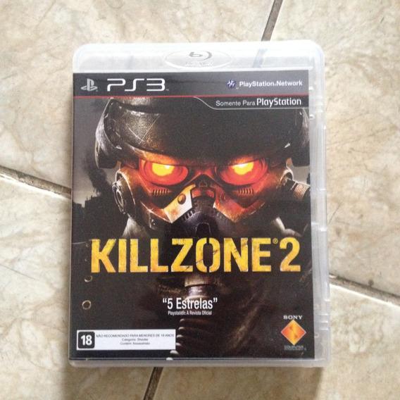 Jogo Ps3 Killzone 2 5 Estrelas Blu-ray Disc .