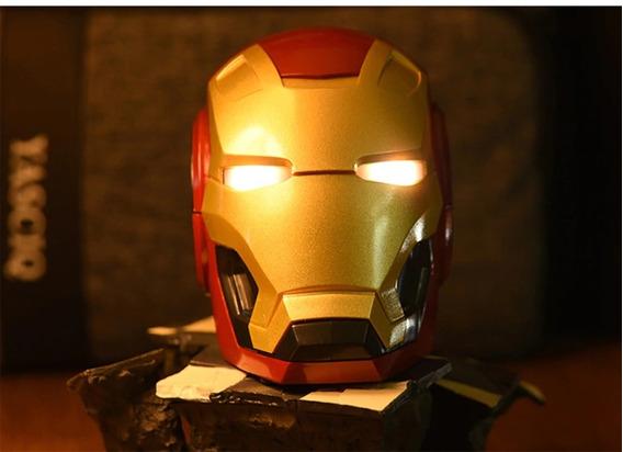 Caixa De Som Móvel Bluetooth V4.2 Homem De Ferro Novo