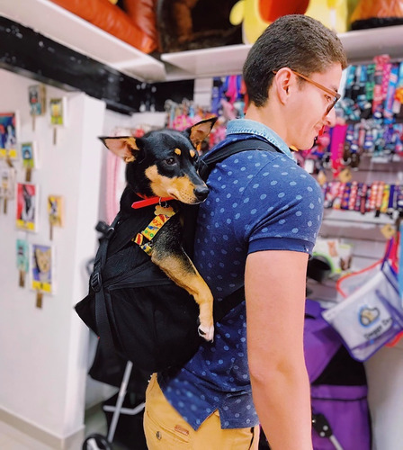 Cargador Canguro Morral Para Mascotas - Perros