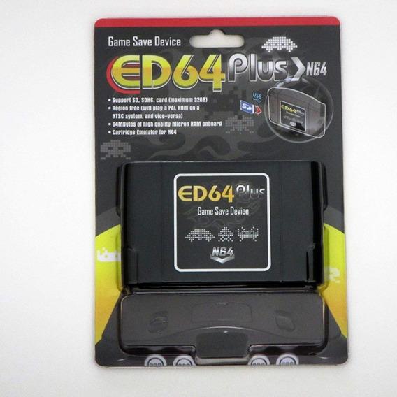 Flashcard Nintendo 64 N64 Ed64 Plus Enhanced Version 8gb