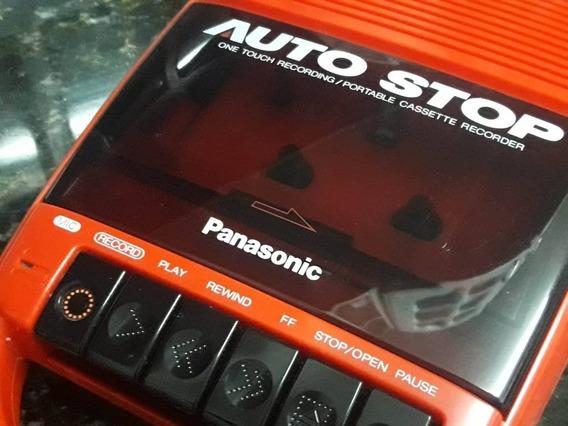 Raríssimo Gravador Cassete Panasonic Rq-40