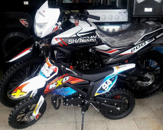 Mini Moto Enduro Motocross 50cc Kxd Gasolina