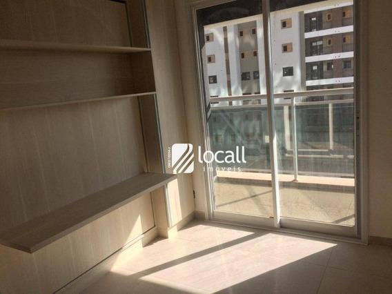 Apartamento Com 1 Dormitório Para Alugar, 33 M² Por R$ 1.600/mês - Jardim Panorama - São José Do Rio Preto/sp - Ap1875